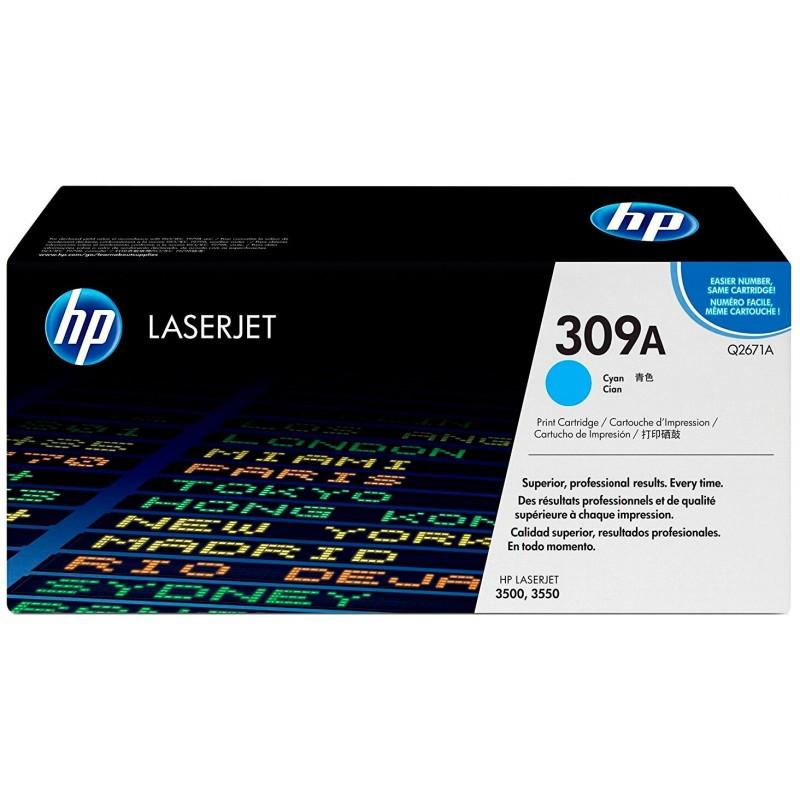 Картридж HP Q2671A голубой для HP CLJ 3500/3350  (4000 стр.)